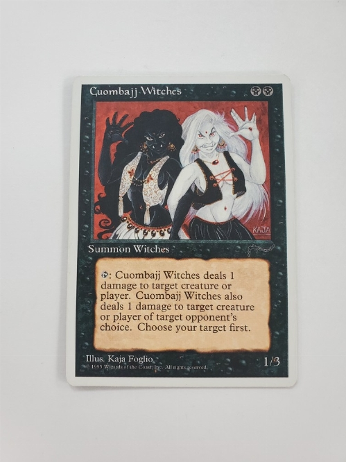 Cuombajj Witches (Chronicles Expansion)