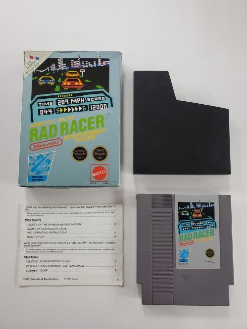 Rad Racer (CIB)