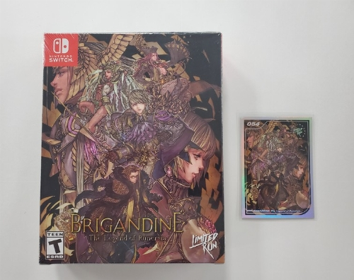 Brigandine: The Legend of Runersia [Collector's Edition] (NEW)