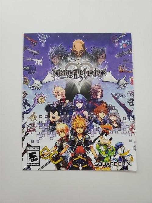 Kingdom Hearts: HD 2.5 Remix (I)