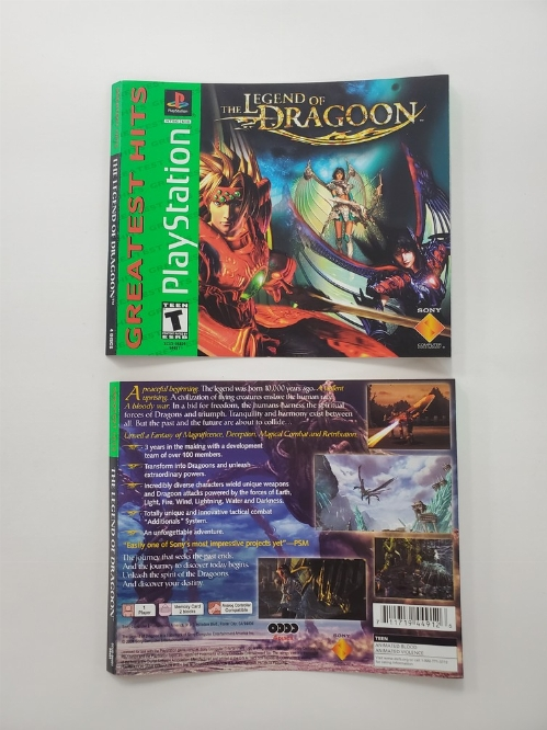 Legend of Dragoon, The [Greatest Hits] (B)