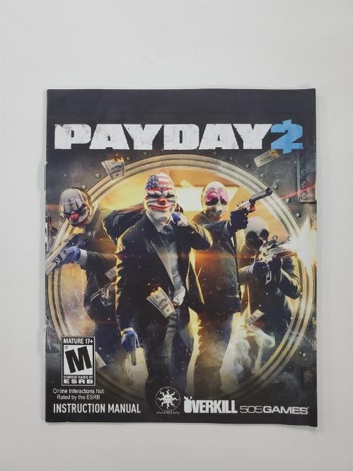 Payday 2 (I)