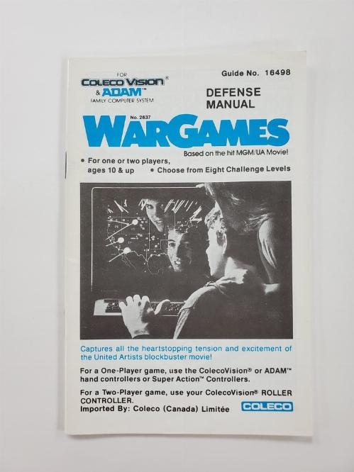 WarGames (I)