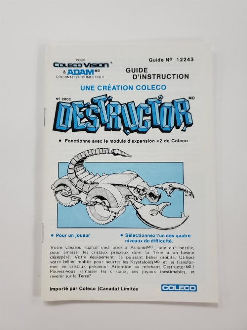 Destructor (I)