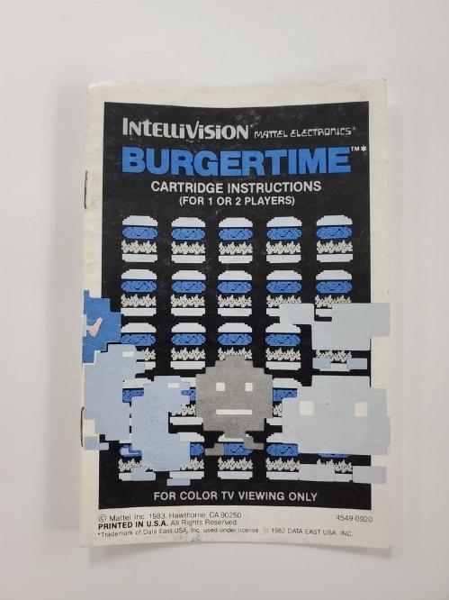 BurgerTime (I)