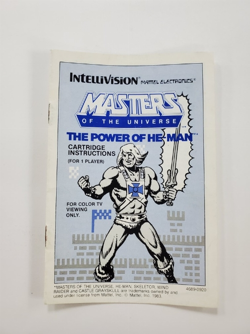 Masters of the Universe: The Power of He-Man (I)
