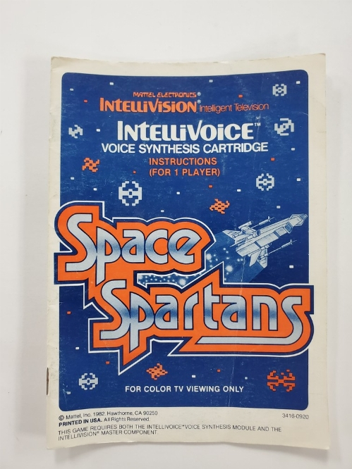 Space Spartans (I)