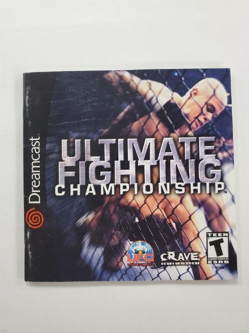 Ultimate Fighting Championship (I)