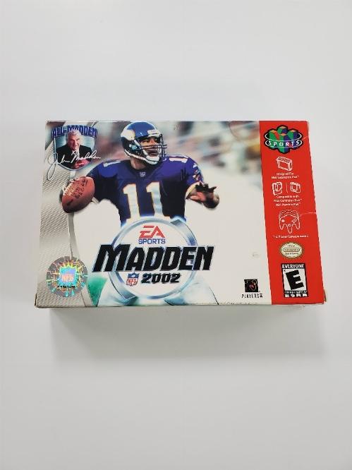 Madden NFL 2002 (B)