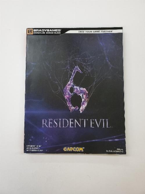 Resident Evil 6 Brady Games Guide