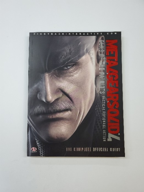 Metal Gear Solid 4 Guns of the Patriots The Complete Official Guide