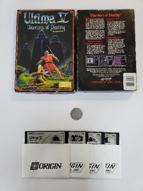 Ultima V Warriors of Destiny (CIB)
