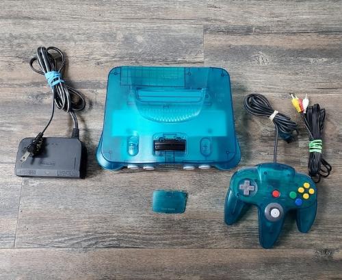 Nintendo 64 Funtastic Ice Blue (C)