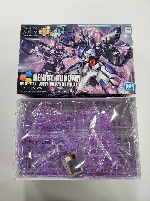 HG 1/144 HG Build fighters Denial Gundam (NEW)