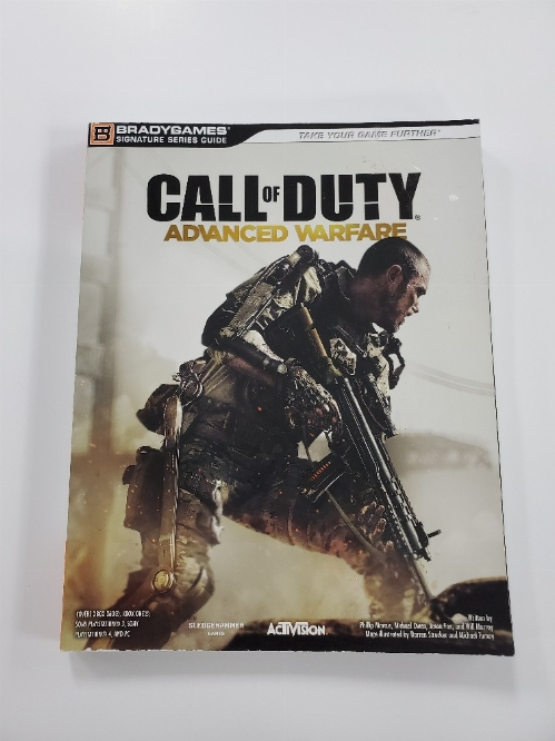 Call of Duty Advanced Warfare Brady Games Guide