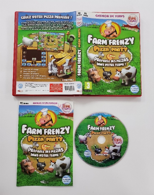 Farm Frenzy: Pizza Party (Version Européenne) (CIB)