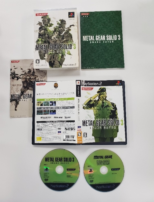Metal Gear Solid 3: Snake Eater (Limited 20th Anniversary Edition) (Version Japonaise) (CIB)