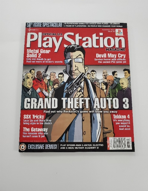 Playstation Magazine Issue 50