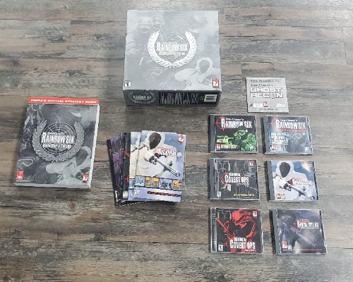 Tom Clancy's Rainbow Six: Collector's Edition (CIB)