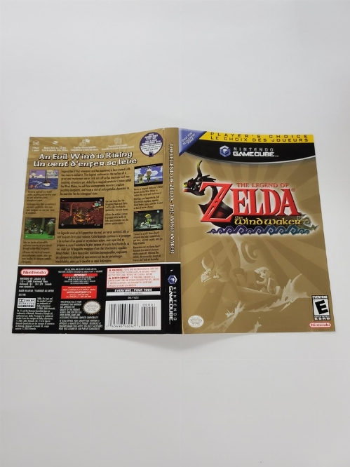 Legend of Zelda: The Wind Waker, The (Player's Choice) (B)