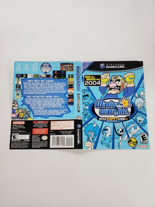 WarioWare Inc.: Mega Party Game$! (B)