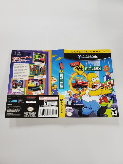 Simpsons Hit & Run [Player's Choice] (B)