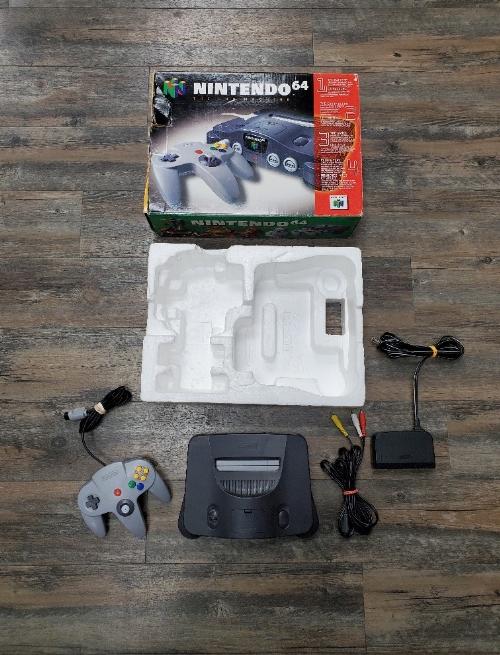 Nintendo 64 Charcoal Grey (CB)