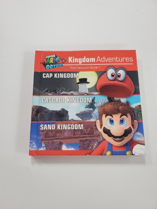 Super Mario Odyssey Kingdom Adventures Travel Companion Vol. 1