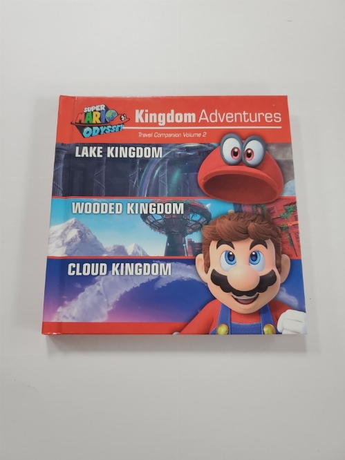Super Mario Odyssey Kingdom Adventures Travel Companion Vol. 2