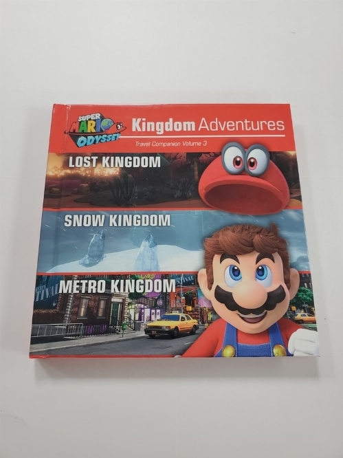 Super Mario Odyssey Kingdom Adventures Travel Companion Vol. 3