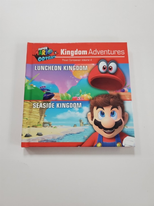 Super Mario Odyssey Kingdom Adventures Travel Companion Vol. 4