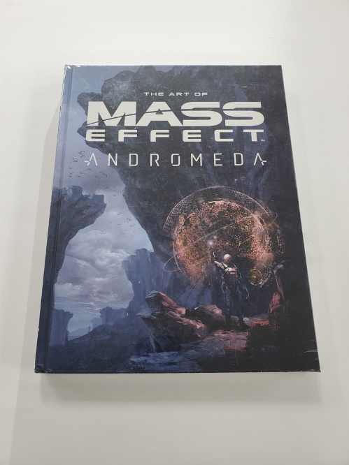 Art of Mass Effect Andromeda Hardcover Book (NEW)