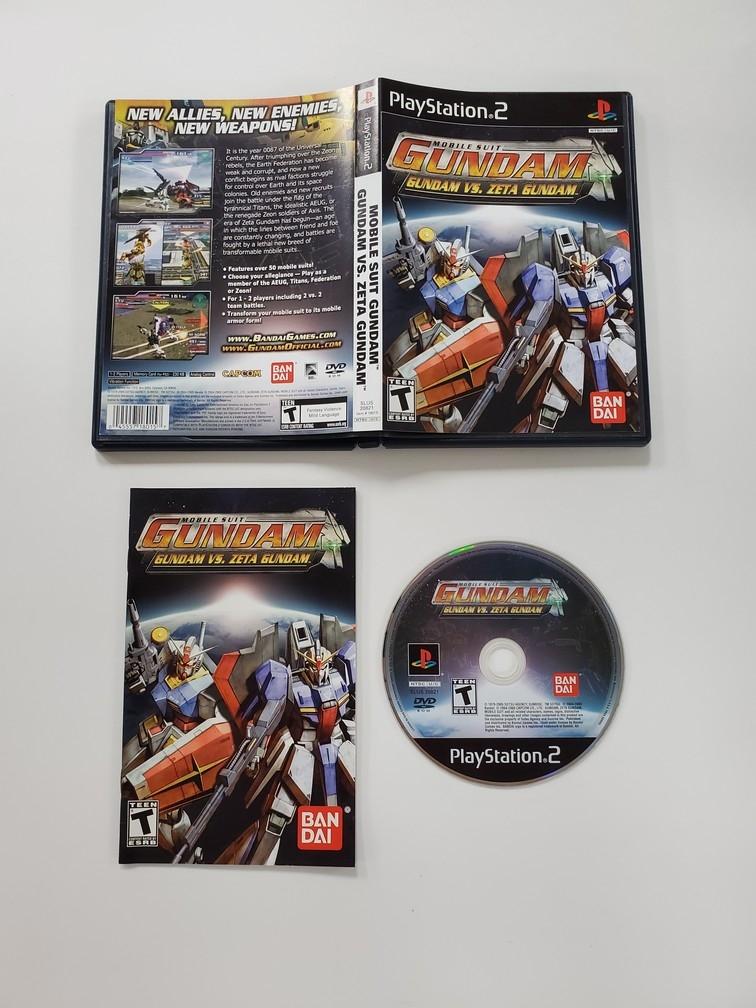 Mobile Suit Gundam: Gundam Vs. Zeta Gundam (CIB)