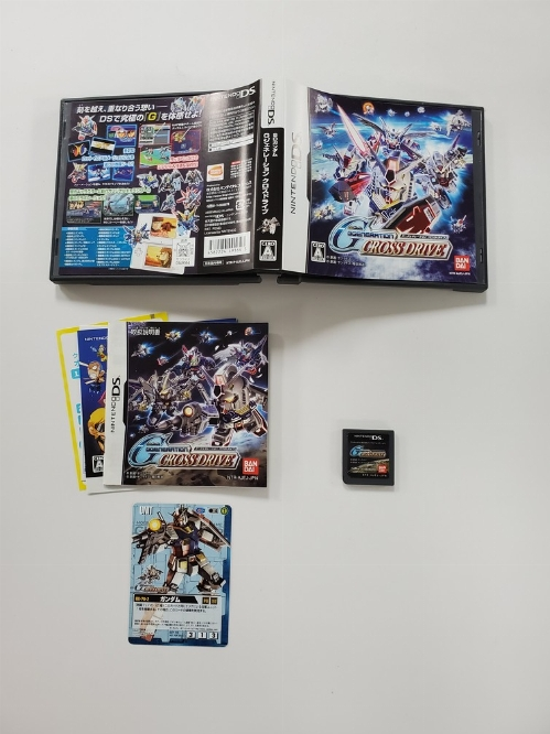 SD Gundam G Generation Cross Drive (Version Japonaise) (CIB)