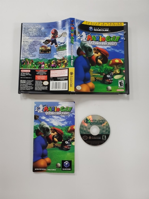 Mario Golf: Toadstool Tour (Player's Choice) (CIB)