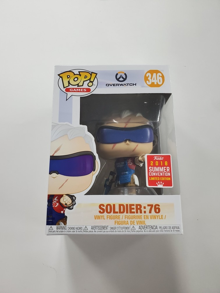 Soldier: 76 (Grillmaster) [Summer Convention] #346 (NEW)