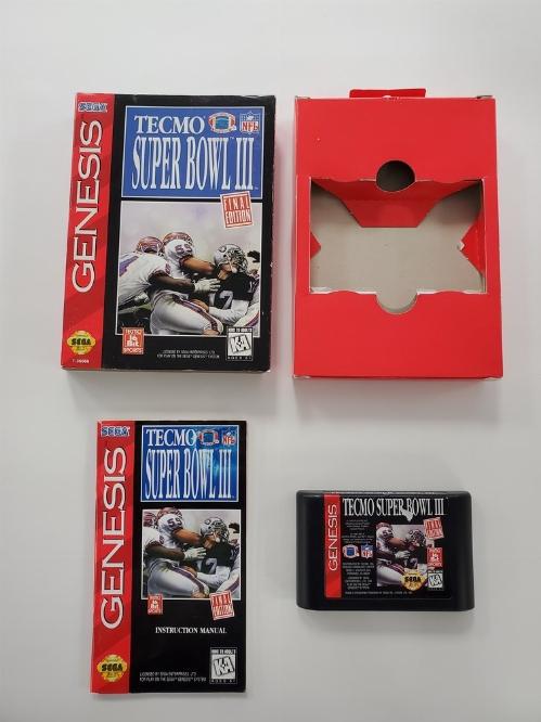 Tecmo Super Bowl III (Cardboard) (CIB)