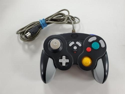 Hip Gear Black Controller for Gamecube (C)