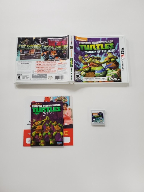 Teenage Mutant Ninja Turtles: Danger of the Ooze (CIB)