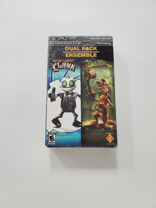 Secret Agent Clank & Daxter [Dual Pack] (NEW)