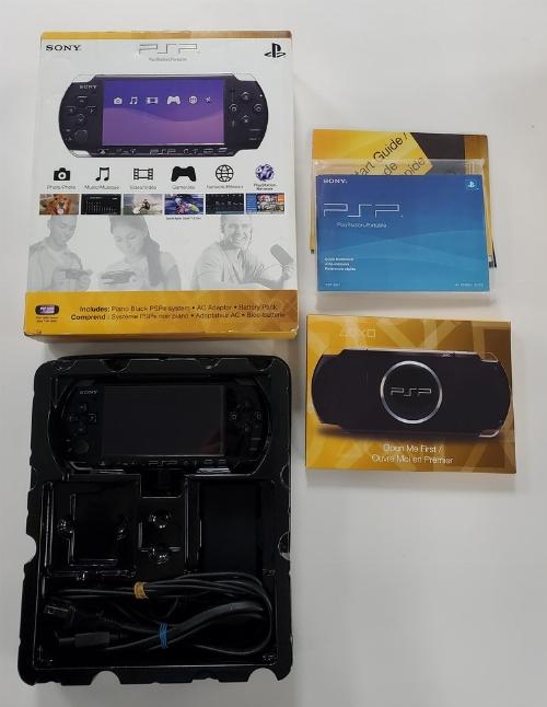 PSP Piano Black (Model 3001) (CIB)