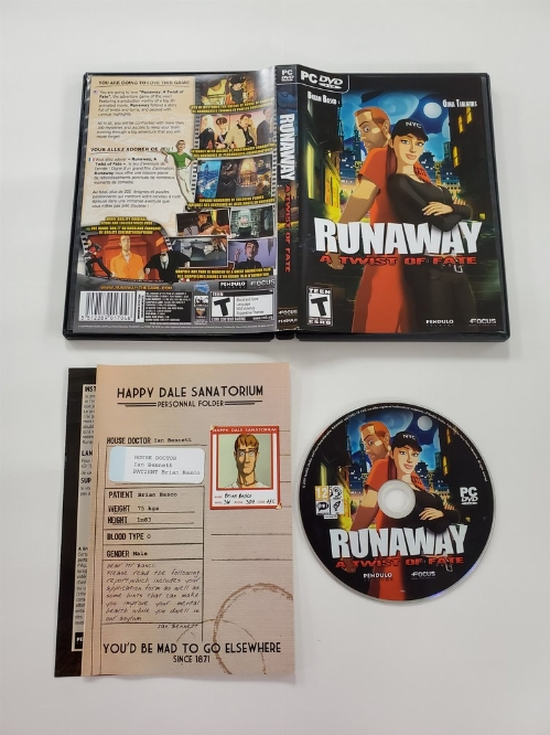 Runaway: A Twist of Fate (CIB)
