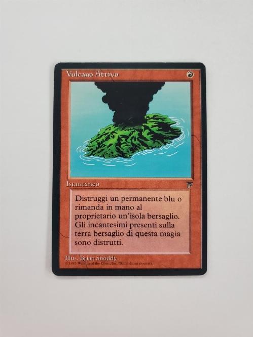 Active Volcano (Version Italienne) (Italian Legends)