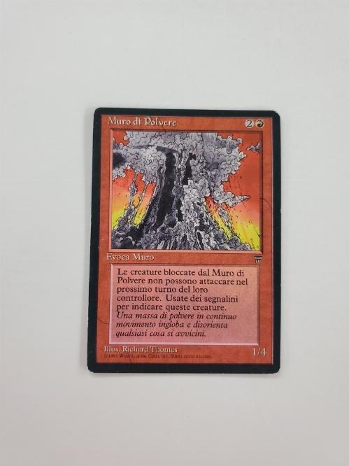 Wall of Dust (Version Italienne) (Italian Legends)