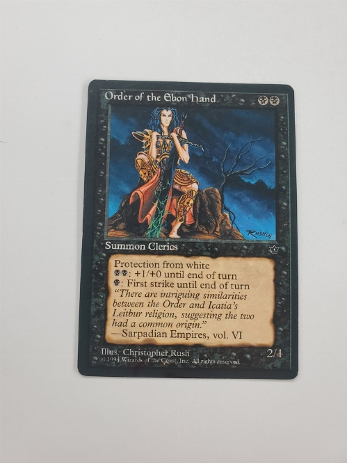 Order of the Ebon Hand (1)