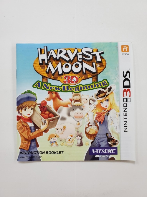 Harvest Moon: A New Beginning (I)