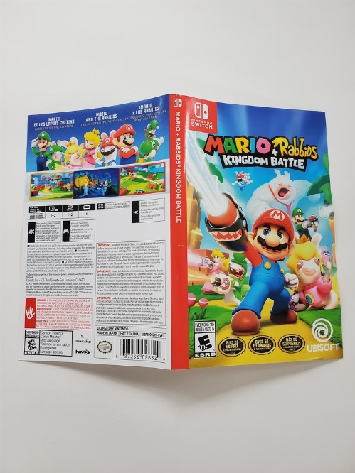 Mario + Rabbids: Kingdom Battle (B)