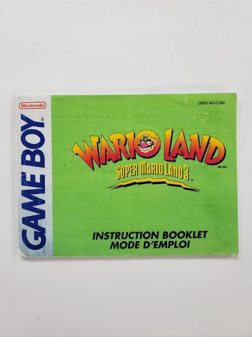 Wario Land: Super Mario Land 3 (I)