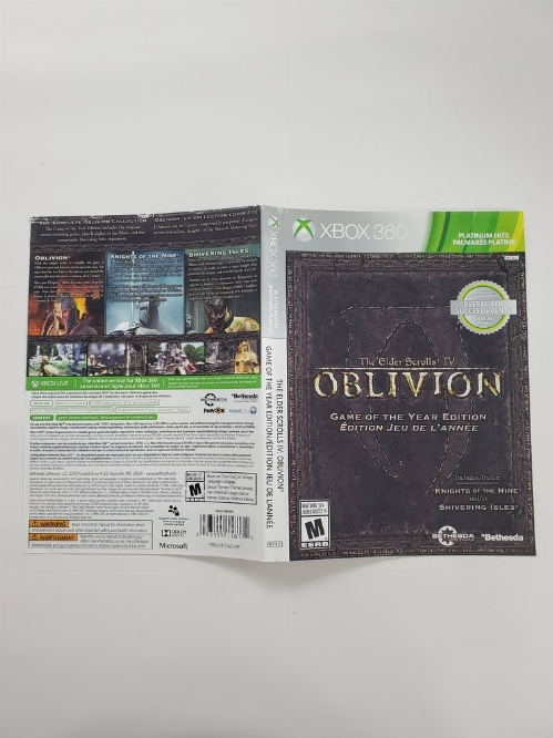 Elder Scrolls IV: Oblivion, The (Game of the Year Edition) [Platinum Hits] (B)
