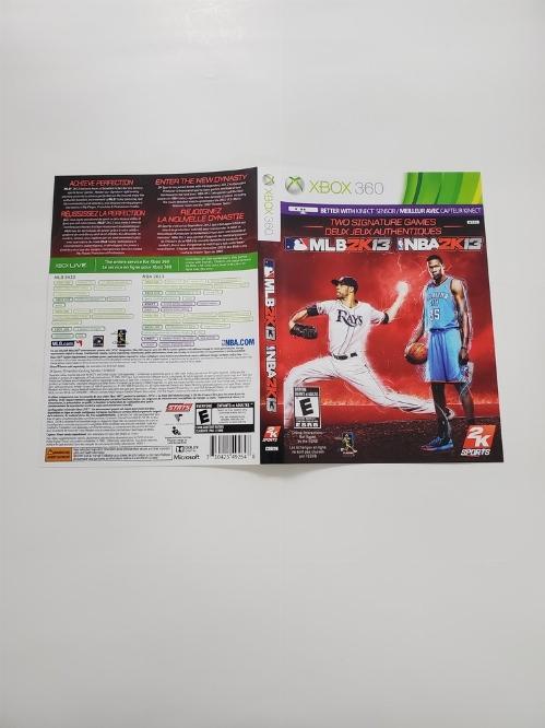 MLB 2K13 & NBA 2K13 (B)